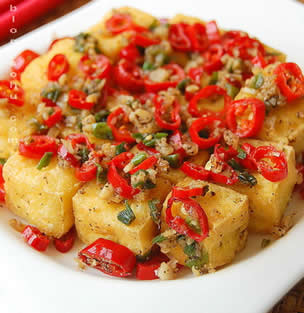 炸豆腐怎么做好吃-炸豆腐的做法