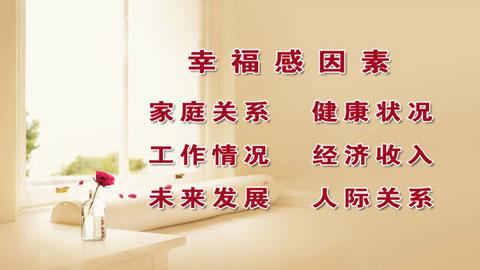 养生堂视频2013年03月25日,杨甫德,幸福其实很简单2,幸福感