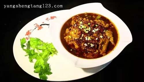 暖暖的味道2016年4月2日视频,郝振江,在家自制正宗川味水煮肉片