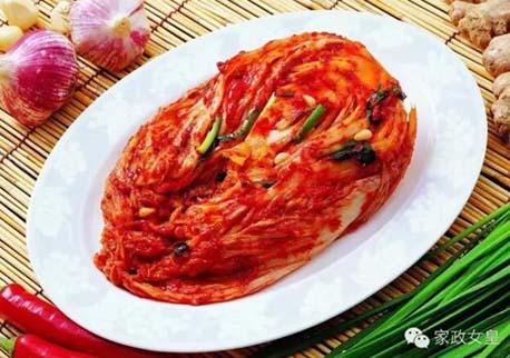 朝鲜族辣白菜用心才能腌制美味