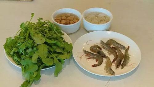 时令虾美味推荐:荠菜虾片羹,香茅盐水虾