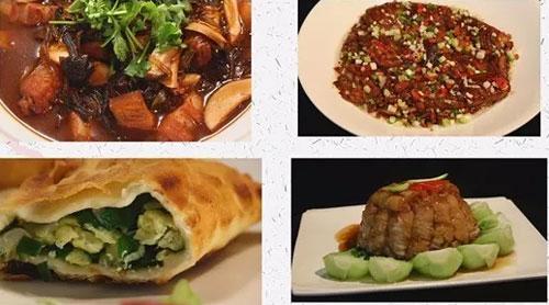 暖暖的味道20171023,刘强,东北菜酱扒茄子,韭菜盒子的做法