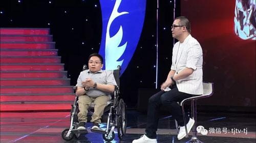 幸福来敲门20171019视频,轮椅巨人李帅传递人生正能量