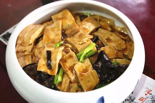 回家吃饭20171121,王伟国,蟹粉芙蓉银鱼,洪桥千张,熏豆茶