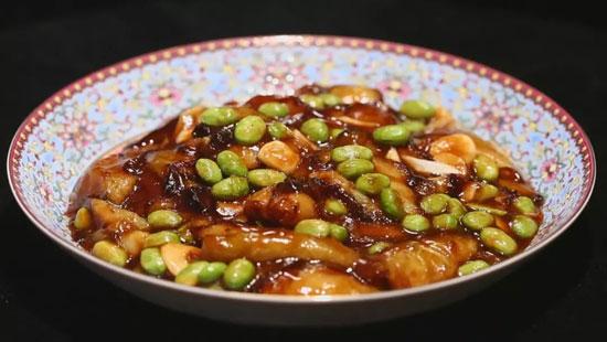 甄建军:毛豆酸茄子的做法,素菜做出满汉全席的味道