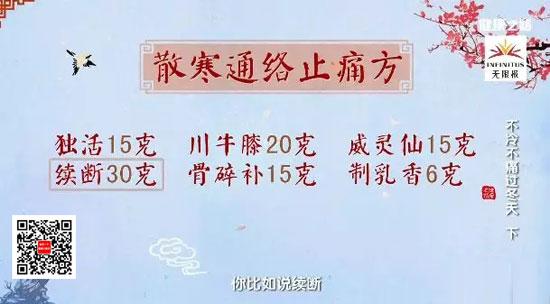 健康之路20180107视频,朱跃兰,不冷不痛过冬天(下)