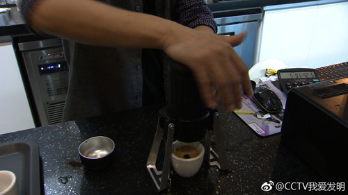 我爱发明20180111视频,咖啡飘香,李科,便携式咖啡机,姚季玉