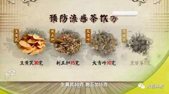 健康之路20180205,王玉光,流感要治更要防,预防流感茶饮方