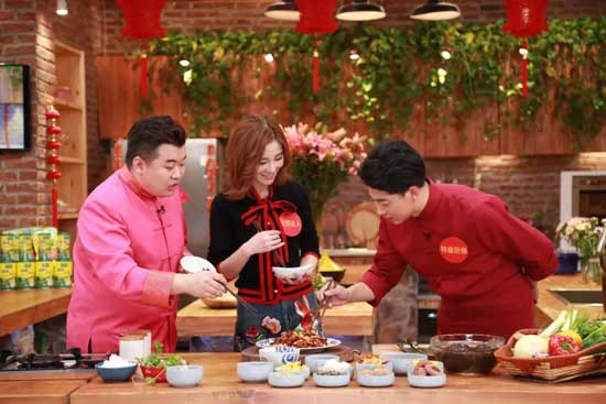 回家吃饭20180207视频,洛小语,麻辣花生炒牛肉,刘强:拔丝白果