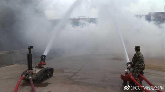 我爱发明20180207视频,曹昂,消防机器人,铁甲消防员