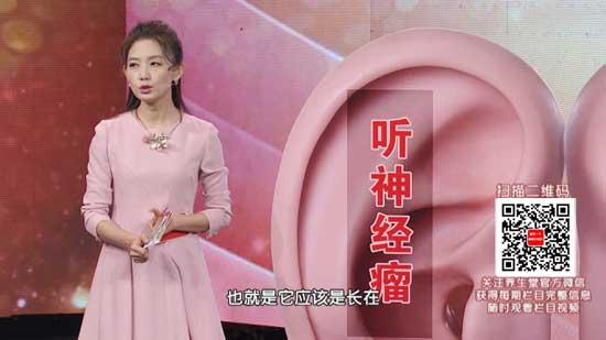 养生堂20180303视频,韩德民,听音辨出头中疾,听神经瘤