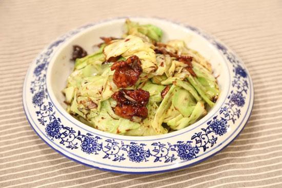 家政女皇20180326视频,徐明锋,我家厨房之酱爆洋白菜