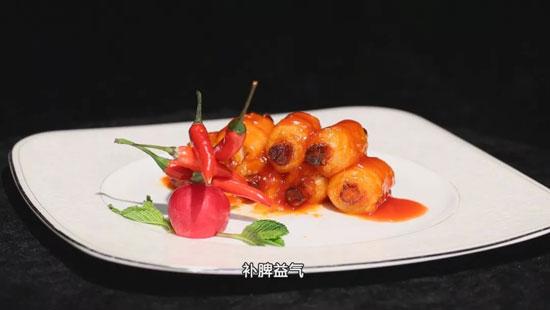 暖暖的味道20180408视频,蒋应荣,香椿拌牛肉,山药带鱼卷