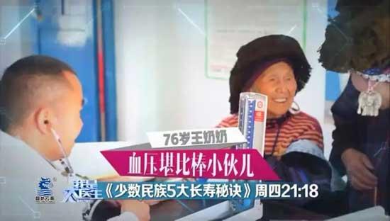 我是大医生20180412视频,田艳涛,少数民族5大长寿秘诀