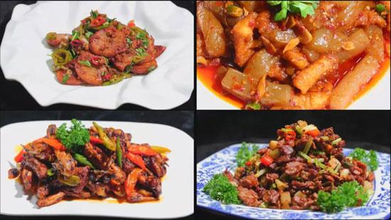 暖暖的味道20180515视频,刘强,泡椒牛肉,魔芋鱼脯