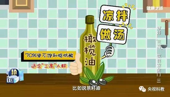 健康之路20180616,范志红,三高人群适合吃什么食用油最好