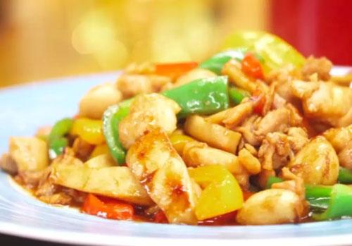 回家吃饭20180821,杏鲍菇炒鸡肉,陈啸虹,广式煎牛肉