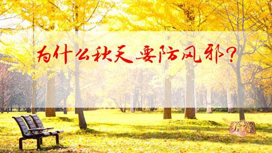 养生堂20180825,赵百孝,金秋防风保安康,风邪,风门,风府穴