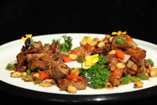暖暖的味道20180906,郝振江,姜汁带鱼,鲜莲子金蒜牛肉粒