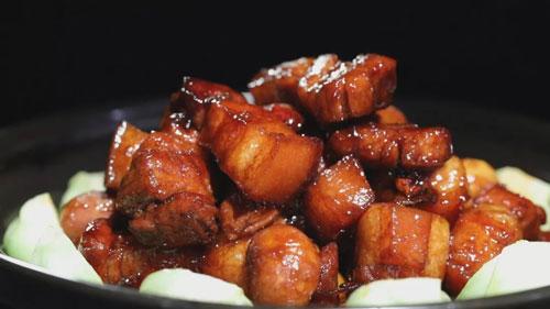 暖暖的味道20181025,刘强,板栗烧土猪肉,小鸡炖蘑菇