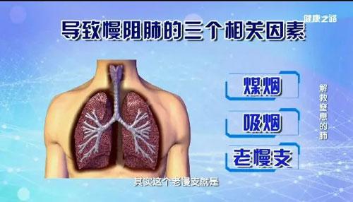 健康之路20181026,刘新民,解救窒息的肺,慢阻肺致病原理