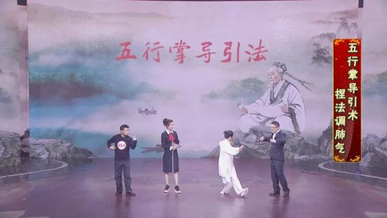 养生堂20181117,魏玉龙,循经导气防中风,五禽戏,五行掌
