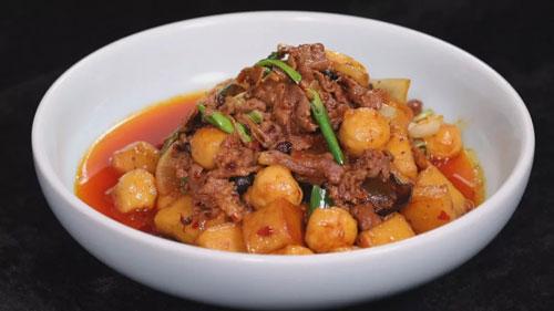 暖暖的味道20181204,刘强,旱火锅,双丁烧汁大黄鱼的制作方法