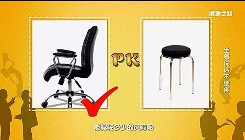 健康之路20190201视频,杨延砚,坐着说话不腰疼,选对椅子