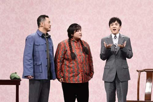 王牌对王牌第4季第3期20190215,沙溢贾玲改编《懒汉相亲》