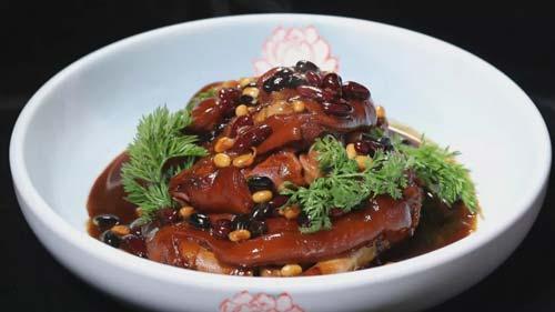 暖暖的味道20190326,郝振江,什锦豆焖猪手,浇汁佛手