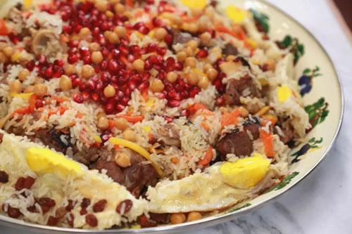 回家吃饭20190612,帕尔哈提,新疆手抓饭,芝士鸡肉�h饭