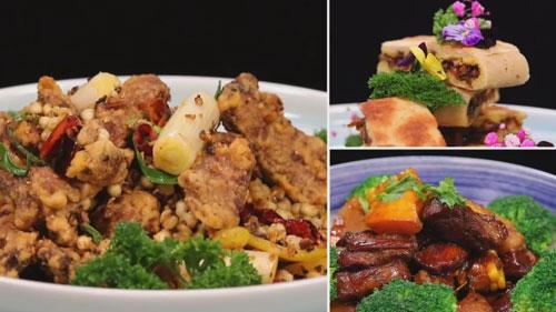 暖暖的味道20191223,付笛生,金沙薏米羊排,南瓜玉米小烧肉