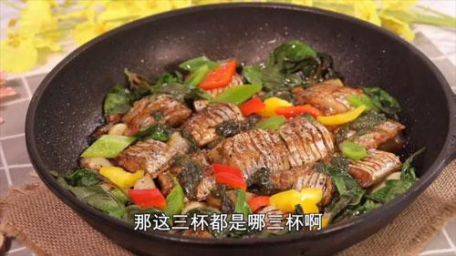 暖暖的味道20200106视频,夏天,香辣烧烤猪蹄,三杯带鱼