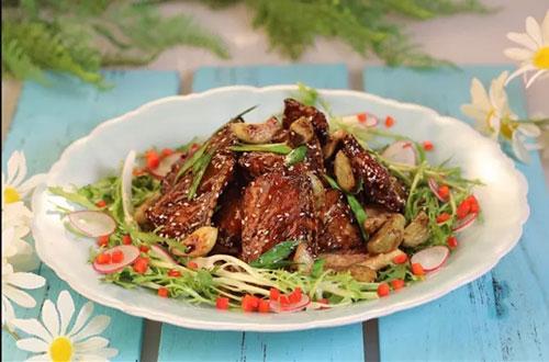 暖暖的味道20200107,夏天,腊八蒜烧带鱼,蜀香怪味鸡