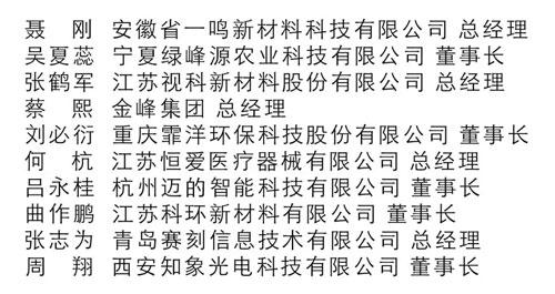 2019CCTV中国创业榜样视频回放,在线回看,10位名单