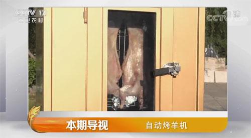 我爱发明视频,王龙年,自动烤羊机,烤制全羊的机器