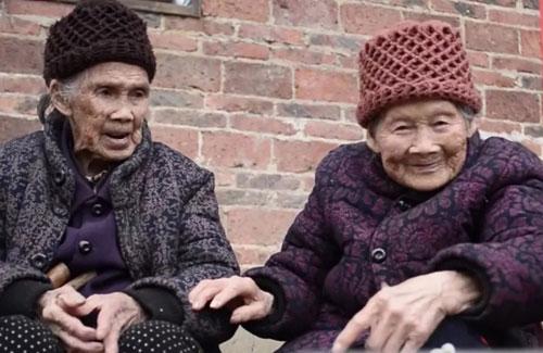 百寿探秘20191231,102岁,吴蓉娥,104岁,韦氏,广西宜州祥基屯