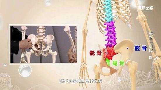 健康之路20200312,田江波,骨盆不正的表现,骨盆前倾如何矫正