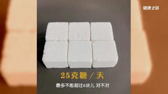 健康之路20200519,陈伟,每天吃糖不超过多少克,学做控糖高手