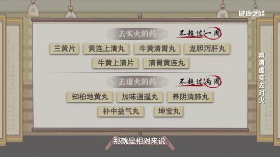 健康之路20200703,翟双庆,上火吃什么药最有效果,清热解毒去火
