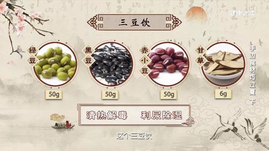 健康之路20200716,鲁艺,夏天皮肤瘙痒,花椒止痒水,三豆饮