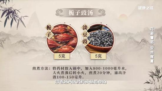 健康之路20200717,王波,巧避暑邪,安然度夏,心火,栀子豉汤