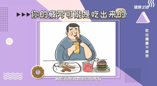 健康之路20200719,于康,吃出健康不疲劳