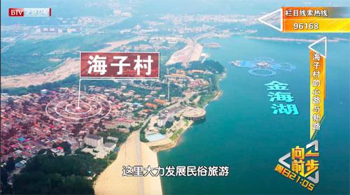 向前一步20200830,北京市平谷区金海湖畔的海子村,违建农家院