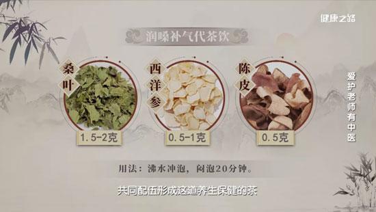 健康之路20200910,李峰,爱护老师有中医,桑叶的功效及用法